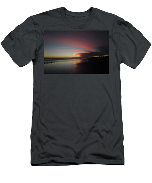 Sunset Las Lajas Men's T-Shirt (Athletic Fit)