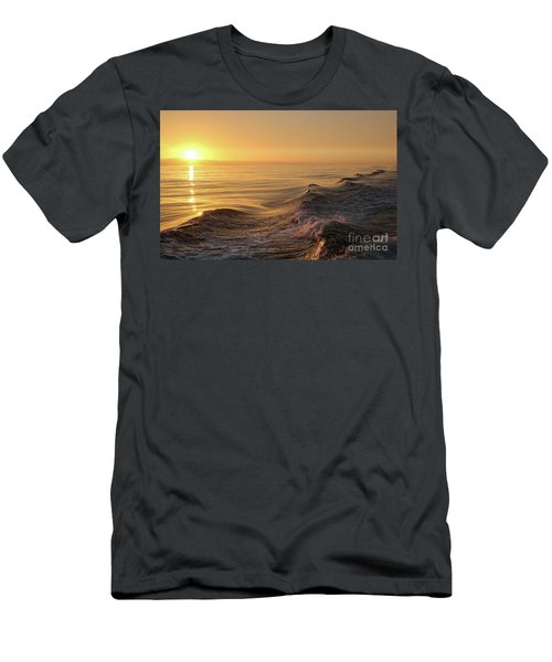 Sunset Meets Wake Men's T-Shirt (Athletic Fit)