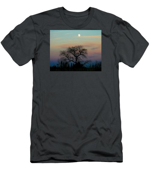 Sunset Moon Men's T-Shirt (Athletic Fit)