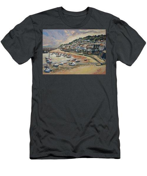 Sunset Mousehole Men's T-Shirt (Athletic Fit)