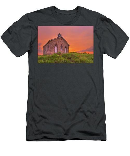 Men's T-Shirt (Athletic Fit) featuring the photograph Sunset Of 1882 by Darren White
