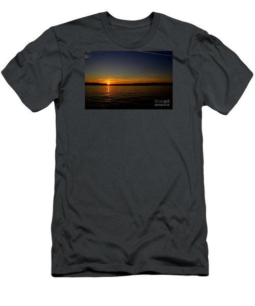 Sunset  On Cape  Ann Men's T-Shirt (Athletic Fit)