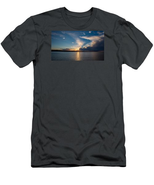 Sunset On The Baltic Sea Men's T-Shirt (Athletic Fit)