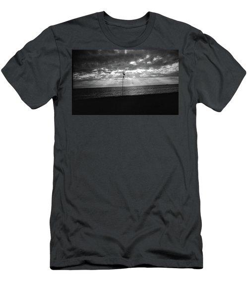 Sunset Ostia Beach Men's T-Shirt (Athletic Fit)