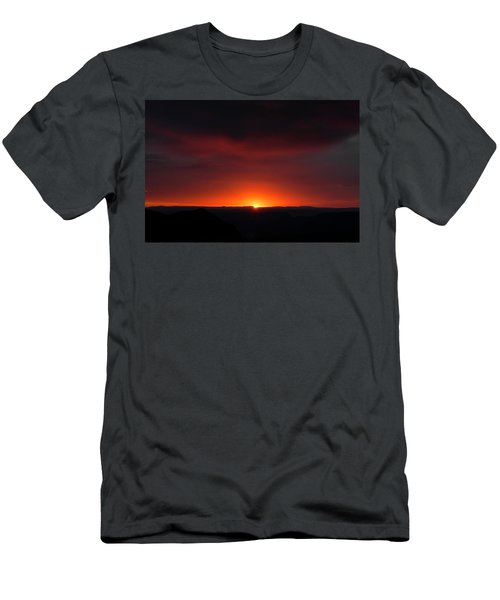 Sunset Over Grand Canyon Men's T-Shirt (Athletic Fit)