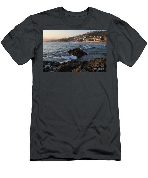 Sunset Over Laguna Beach   Men's T-Shirt (Athletic Fit)