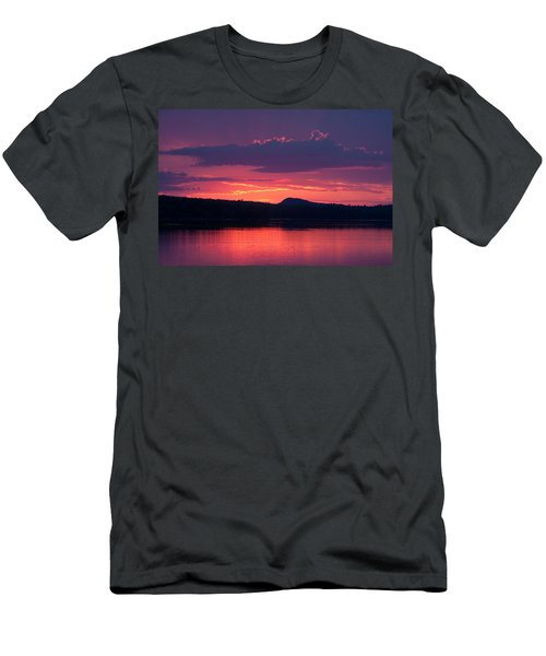 Sunset Over Sabao Men's T-Shirt (Athletic Fit)