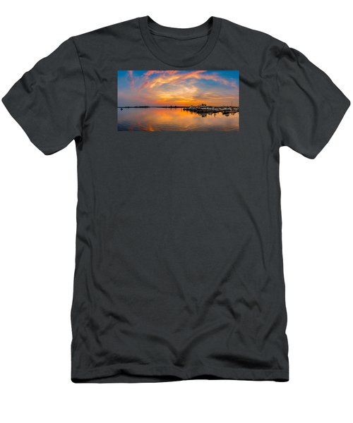 Sunset Over Shrewsbury Bay Men's T-Shirt (Athletic Fit)