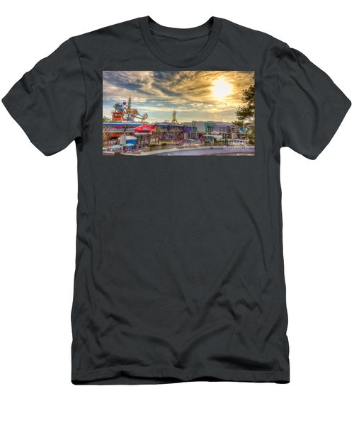 Sunset Over Tomorrowland Men's T-Shirt (Athletic Fit)
