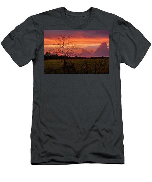 Sunset Pasture Men's T-Shirt (Athletic Fit)
