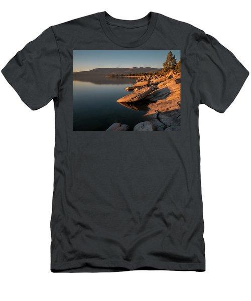 Sunset Peace Men's T-Shirt (Athletic Fit)
