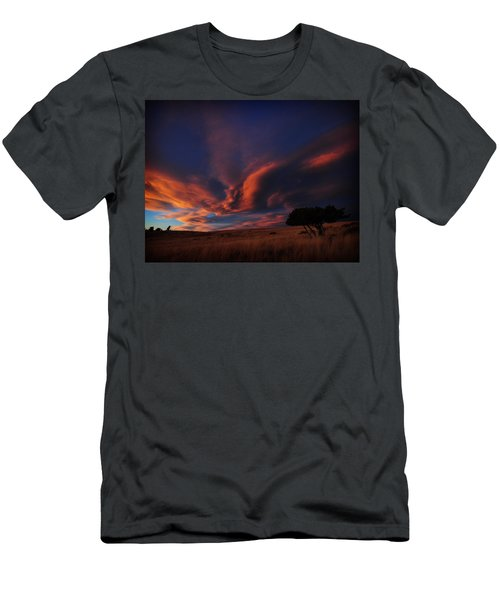 Sunset Plains Men's T-Shirt (Athletic Fit)