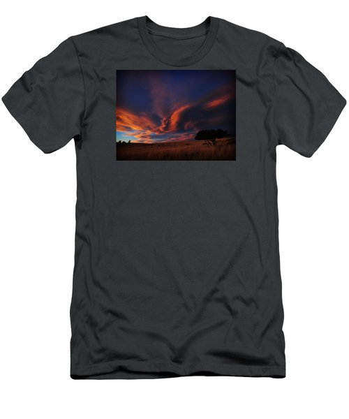 Sunset Plains Men's T-Shirt (Athletic Fit)