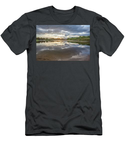 Sunset Reflected Men's T-Shirt (Athletic Fit)