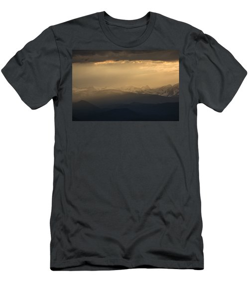 Men's T-Shirt (Athletic Fit) featuring the photograph Sunset Softness by Colleen Coccia