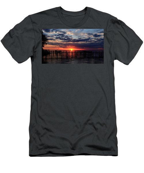 Sunset - South Carolina Men's T-Shirt (Athletic Fit)