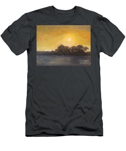 Sunset Through The Fog Men's T-Shirt (Athletic Fit)