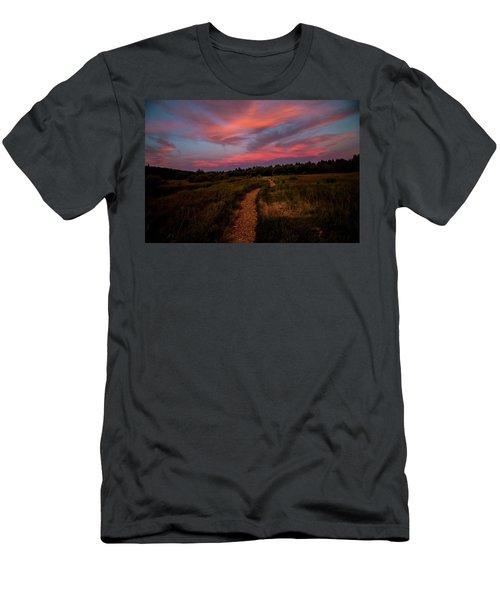Sunset Trail Walk Men's T-Shirt (Athletic Fit)