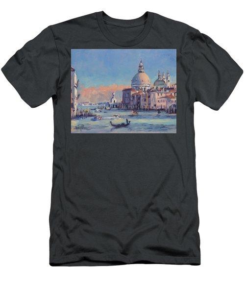 Sunset Venice Men's T-Shirt (Athletic Fit)