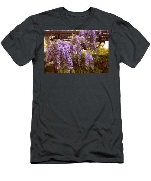 Sunset Wisteria Men's T-Shirt (Athletic Fit)