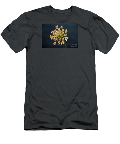 Men's T-Shirt (Slim Fit) featuring the photograph Sunset's Glow by Rebecca Davis