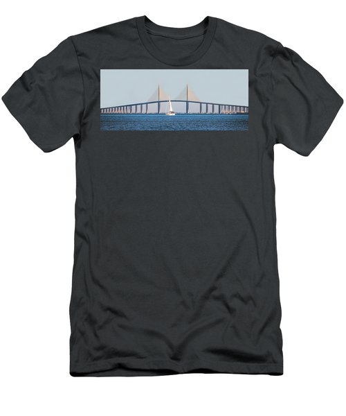 Sunshine Skyway Bridge #2 Men's T-Shirt (Athletic Fit)