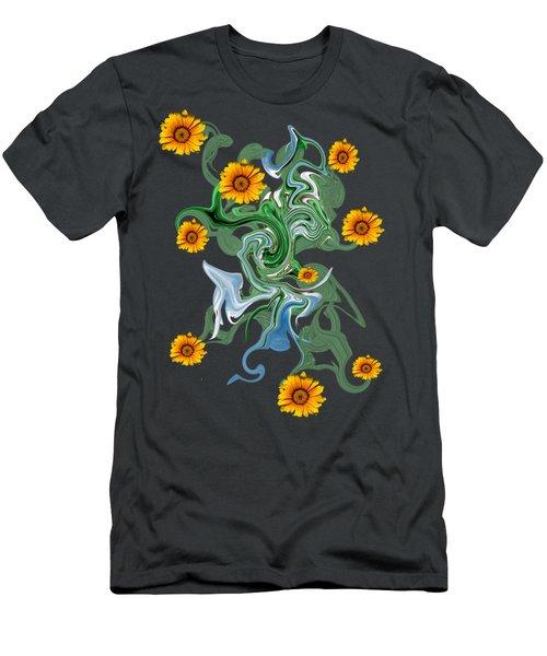 Sunspots Men's T-Shirt (Athletic Fit)