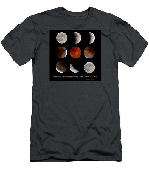 Super Blood Moon Eclipse Men's T-Shirt (Athletic Fit)