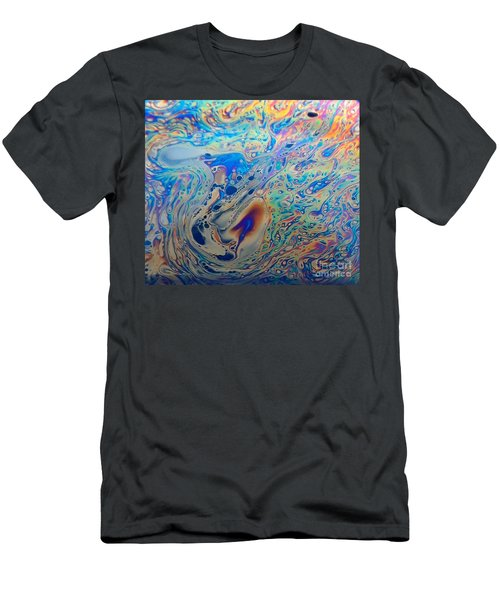 Superheated Rainbows  Men's T-Shirt (Athletic Fit)