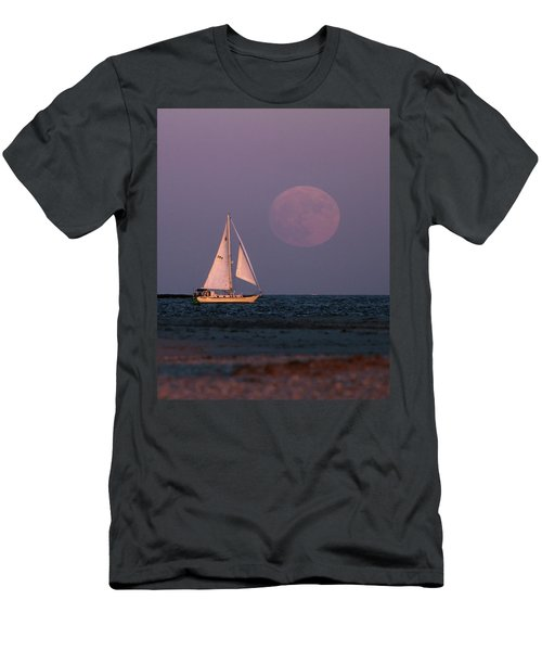 Supermoon Two Men's T-Shirt (Athletic Fit)