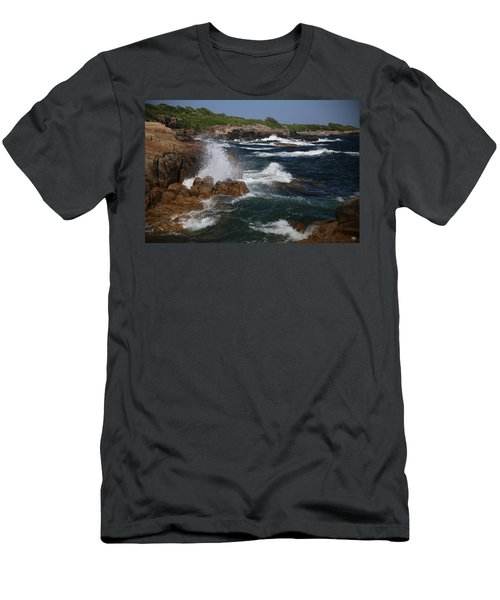 Surf At Biddeford Pool Men's T-Shirt (Athletic Fit)