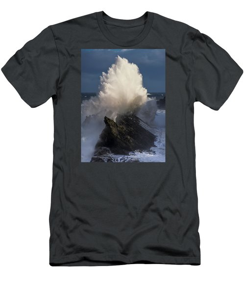 Surf Eruption Men's T-Shirt (Athletic Fit)