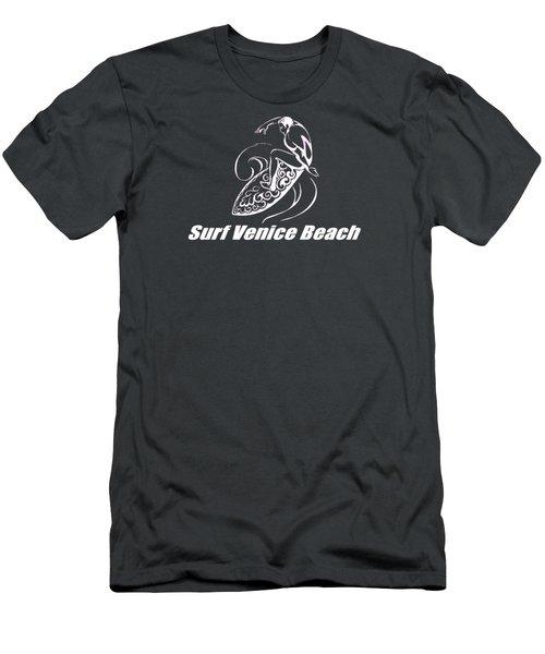 Surf Venice Beach Men's T-Shirt (Athletic Fit)