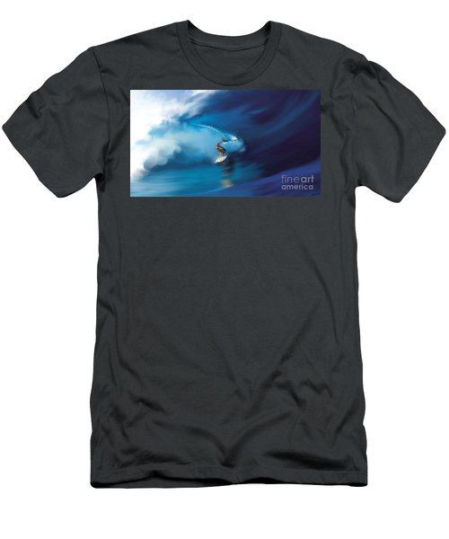 Surfers Playground Men's T-Shirt (Slim Fit) by Anthony Fishburne