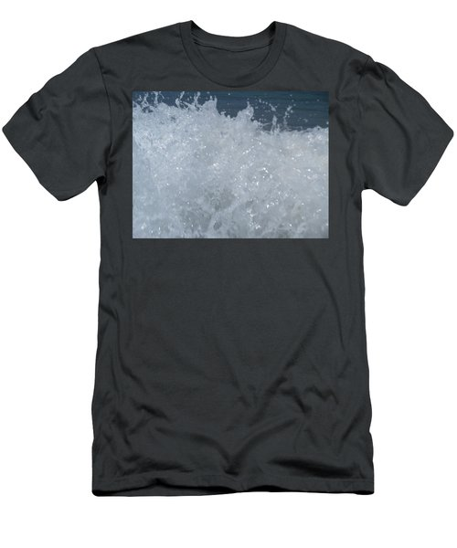 Men's T-Shirt (Athletic Fit) featuring the photograph Surf's Up by Esther Newman-Cohen