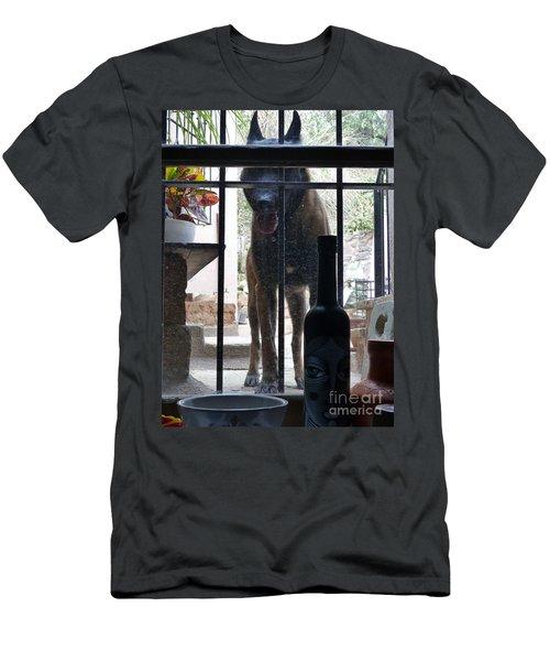 Surprise Visitor Men's T-Shirt (Athletic Fit)
