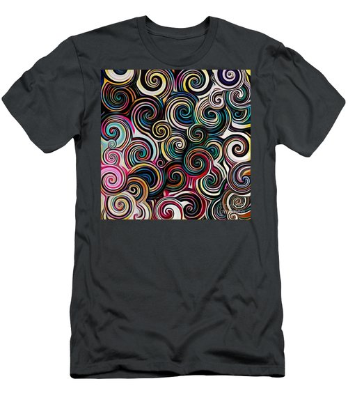 Surreal Swirl  Men's T-Shirt (Athletic Fit)