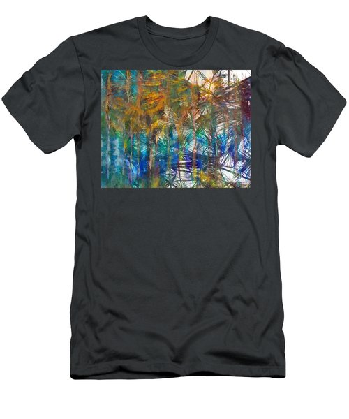 Men's T-Shirt (Athletic Fit) featuring the photograph Surrender To The Light by Claire Bull