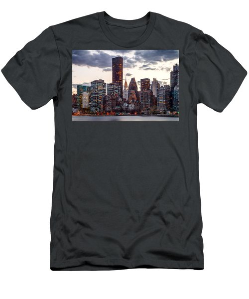 Surrounded By The City Men's T-Shirt (Slim Fit) by Az Jackson