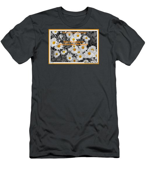 Men's T-Shirt (Slim Fit) featuring the digital art Survive The Recovery by Holley Jacobs
