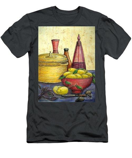 Sustenance Men's T-Shirt (Slim Fit) by Kim Jones
