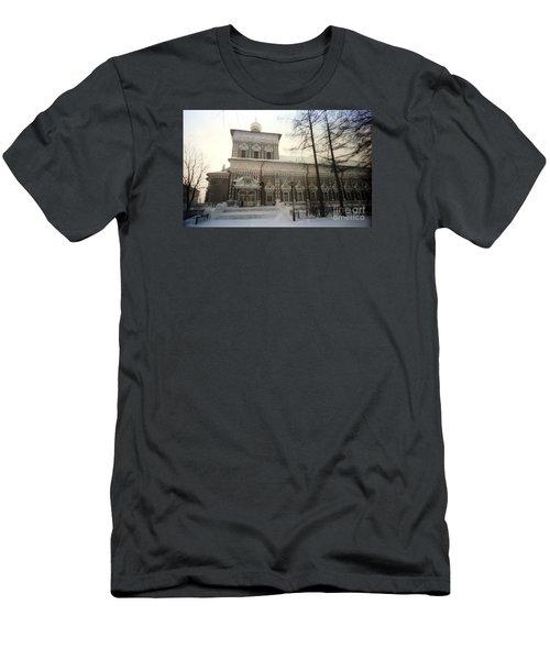 Suzdal  Russia Church Men's T-Shirt (Slim Fit) by Ted Pollard