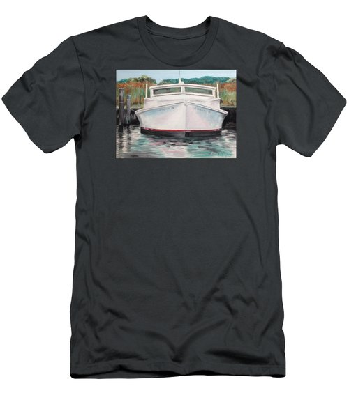 Men's T-Shirt (Slim Fit) featuring the painting Suzie Q by Stan Tenney