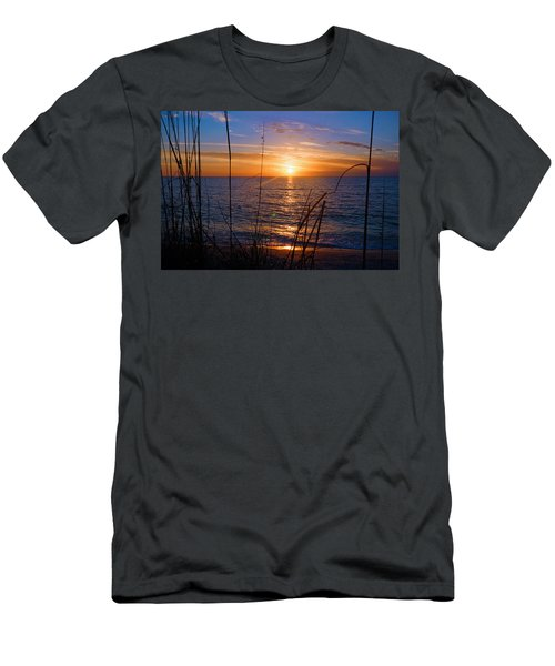 Sw Florida Sunset Men's T-Shirt (Athletic Fit)