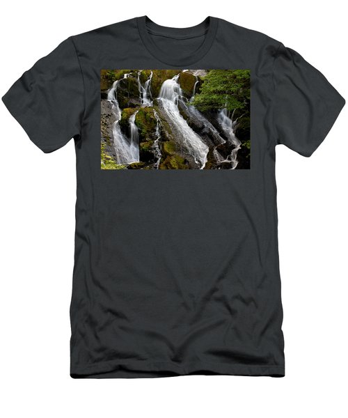 Swallow Falls Men's T-Shirt (Athletic Fit)