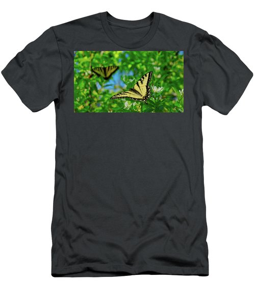Swallowtails Men's T-Shirt (Athletic Fit)