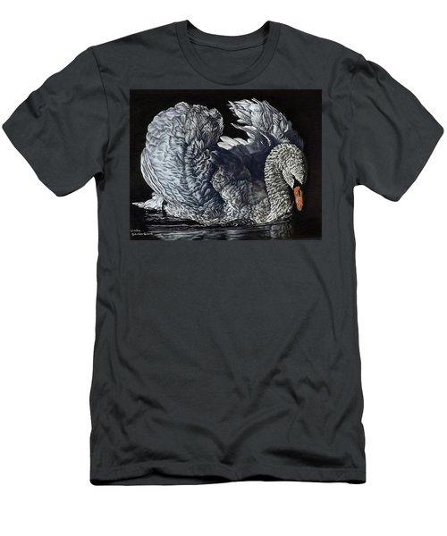Swan #2 Men's T-Shirt (Athletic Fit)