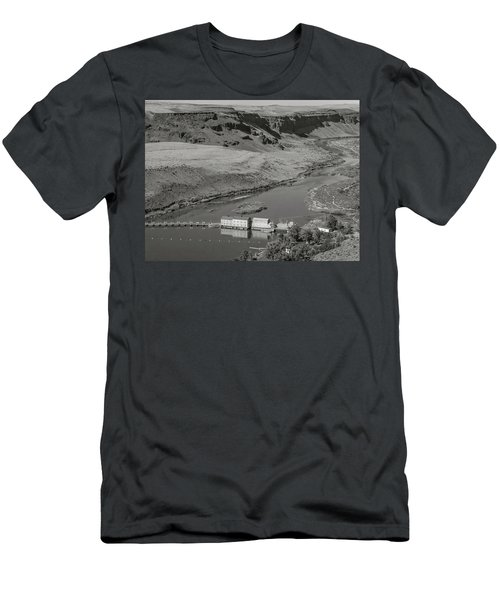 Swan Falls Dam Men's T-Shirt (Athletic Fit)