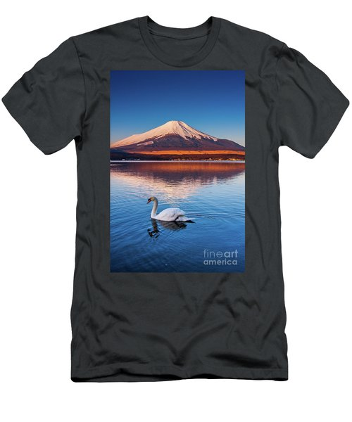 Men's T-Shirt (Slim Fit) featuring the photograph Swany by Tatsuya Atarashi