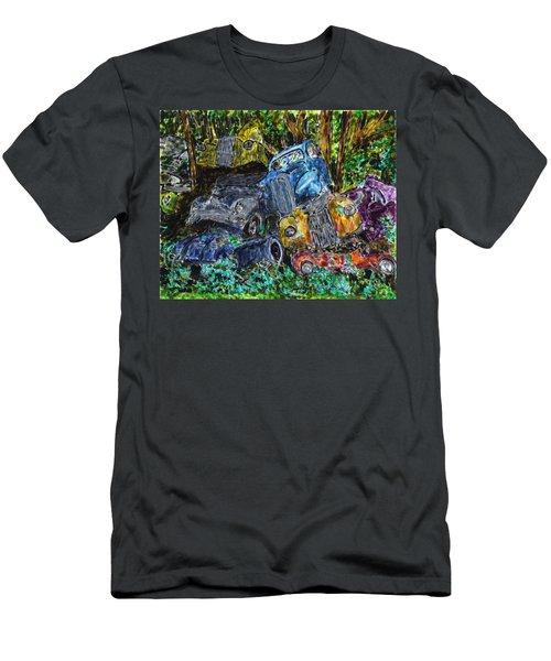 Swedish Scrapyard Men's T-Shirt (Athletic Fit)
